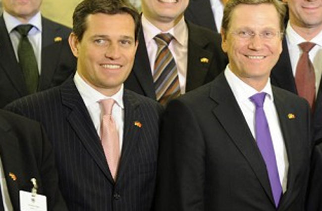 German Vice Chancellor Guido Westerwelle Marries His Hot Piece Michael Mronz