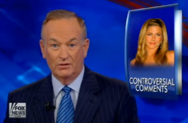 And What Did Jennifer Aniston Think Of Bill O'Reilly's Attack On 'Non-Traditional Families'?
