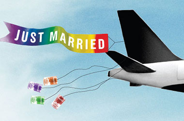 Want to Get Gay Married at 35,000 Feet? Scandinavia's Airline Wants to Throw Your Reception Over The Atlantic