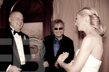 PHOTOS: Rush Limbaugh's Elton John-Sanctioned Wedding Day