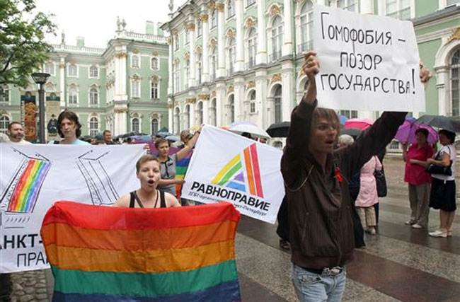 Only 4 Percent of Russians Want to See Homosexuals Wiped Out