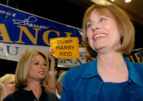 Serious Senate Candidate Sharron Angle Won't Live In a World Where Gays Adopt Children