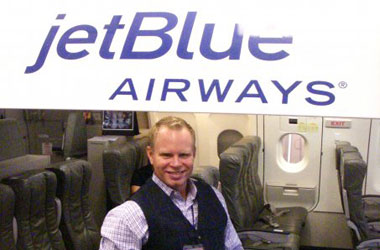 PHOTOS: Awesome Flight Attendant Steven Slater Wearing His Best JetBlue Blues