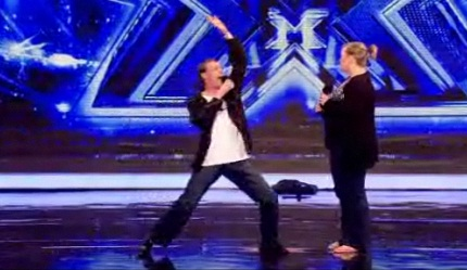 X Factor Kicks Off With Terrible Singing Homosexual
