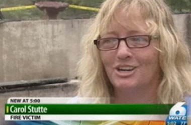 Who Does This Tennessee Lesbian Couple Think Burned Their House Down? The Homophobic Neighbor