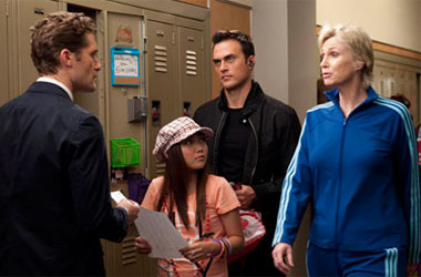The Conundrum Presented By Cheyenne Jackson On Glee
