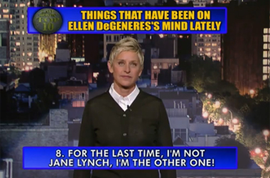There Are Only 2 Gay Short-Haired Blondes In Hollywood, And Ellen DeGeneres Is One of Them