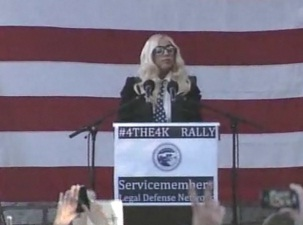 Lady Gaga: Repeal DADT. Oh, And Kick Out The Straight Soldiers Who Don't Like Gays