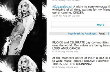 Why Is Apple Censoring Lady Gaga's Twitter Celebration Of Prop 8′s Defeat?
