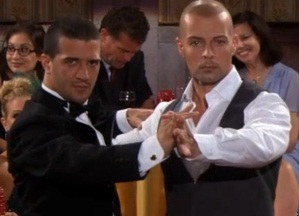 How Joey Lawrence Wound Up Tangoing With Dancing With The Stars' Mark Ballas