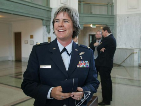 DoJ Files Automated Appeal to Air Force Maj. Margaret Witt's Reenlistment Case