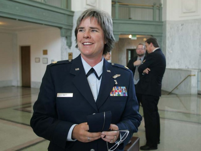 It Took 7 Years, but the Air Force is Finally Giving Lesbian Nurse Her Retirement Benefits