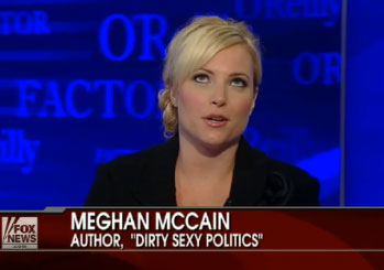 Meghan McCain: Obama 'Isn't Doing Anything For the Gay Community'