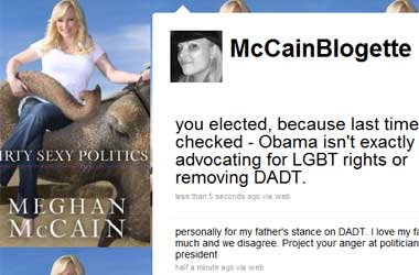Meghan McCain: You Should Hate On Politicos Like My Father