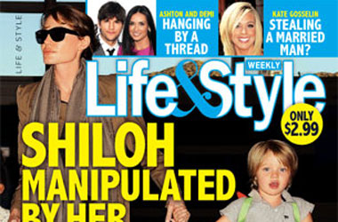 Now Angelina Jolie Is Forcing Shiloh To Be a Tomboy?