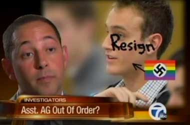 Why Is Michigan AG Andrew Shirvell Cyber Bullying Gay College Student Prez Chris Armstrong?