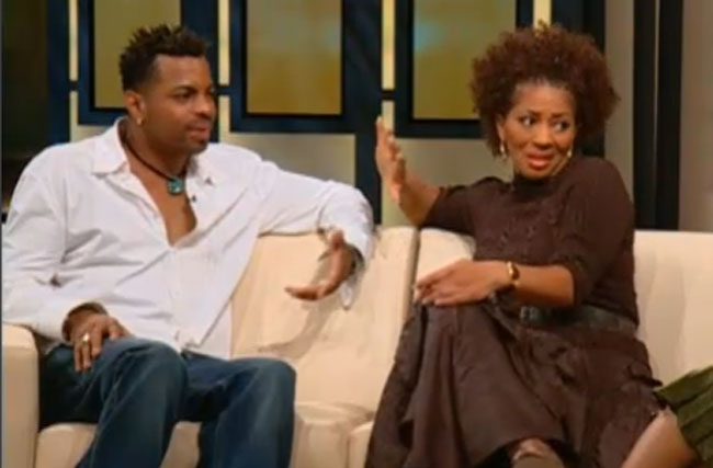 WATCH: Terry McMillan + Jonathan Plummer, From Hateful Downlow Ex-Spouses To Bath Buddies