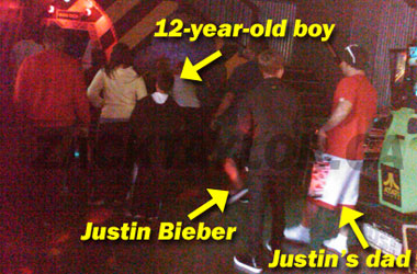 Some Twerp Called Justin Bieber A 'Faggot' At Laser Tag, And Got Shoved For It