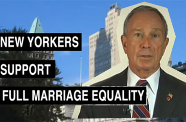 HRC Lets Everyone Forget Michael Bloomberg Sued To Stop The Legalization of Gay Marriage