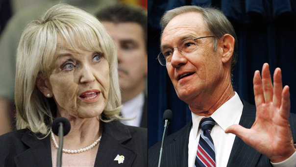 Arizona Gov. Jan Brewer Waits Until 11th Hour To Ignite 'AG Terry Goddard Is a Homo' Rumors