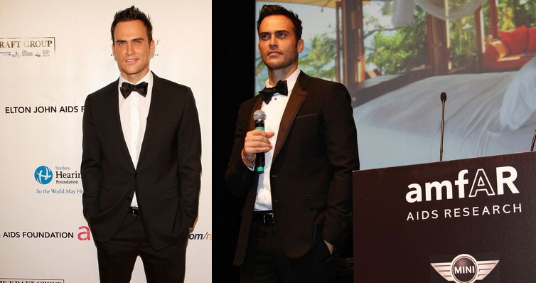 Cheyenne Jackson Does Not Recycle Tuxedos