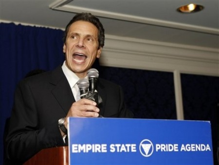 Who Believes Andrew Cuomo Will Spend First Year In Office Locking Up Gay Marriage?