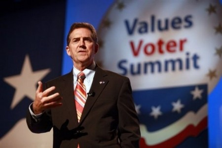 Sen. Jim DeMint Is Skipping CPAC Because There Won't Be Enough Hate Leaders There