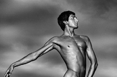 Evan Lysacek Is Naked Without His Skates
