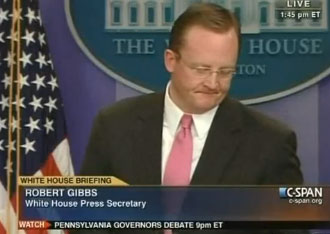 Is HRC Mortified Or Sexually Aroused By Robert Gibbs' DADT Dodging?