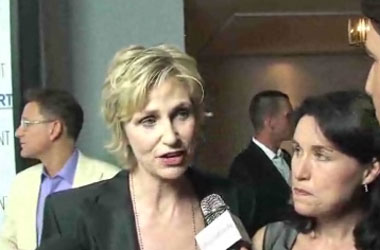 How Jane Lynch Decides Which Gay Groups She'll Lend Her Name To