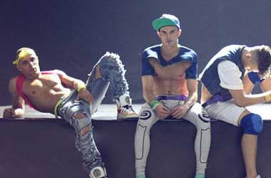 WATCH: The Ukraine's Butchest, Fittest Boy Band Wears … Heels