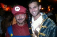 Lance Bass And His Maharaja Walk Into a Halloween Party