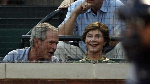 Laura Bush Didn't Feel Any 'Responsibility' To Tell George Not To Be a Bigot
