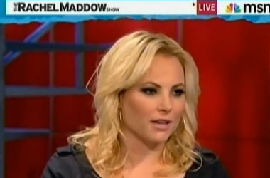 Meghan McCain Is Sad That Gays Don't Want Her Speaking For Them