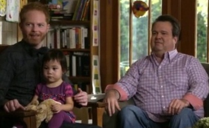 Modern Family: 2 Gay Dads + Asian Child = Pre-School Success, Right?