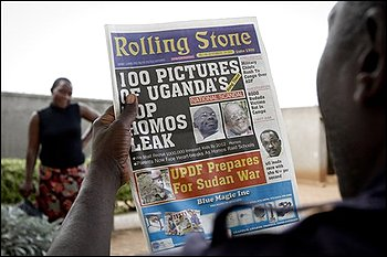 Uganda's Handy Newspaper List of The Top 100 Gays to String Up In The Trees