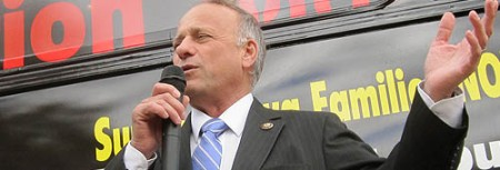 Rep. Steve King Doesn't Want Children Stolen By Homosexuals To Be Raised In Warehouses