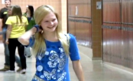 Sabrina Schlichting Wants Her High School Adorned In Blue To Fight Bullying