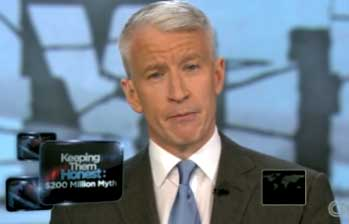 Anderson Cooper Gets Stoic When Right-Wingers Lie About Obama's Luxury Travel Plans