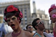 She Can't Believe It's Buenos Aires' 19th Gay Pride Parade Either