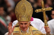 Pope Benedict XVI: Only Male Whores Can Use Condoms
