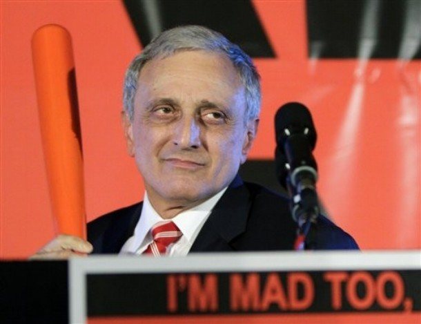 Carl Paladino's Phallic Goodbye