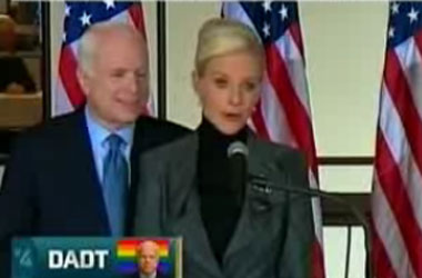 Turns Out Cindy McCain Does Not Miss What John McCain Used To Be: They're Both Liars