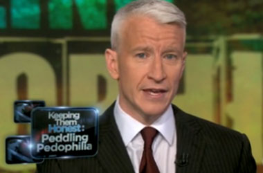 Anderson Cooper, Keeping Pedophiles (And Their Booksellers) Honest