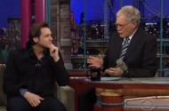 Jim Carrey Not Entirely Thrilled With David Letterman's Homosexual Line of Questioning