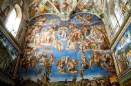 Michelangelo Painted His Slutty Bathhouse Rendezvous In The Sistine Chapel