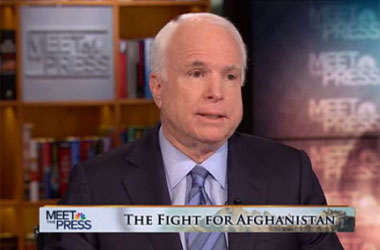 John McCain Doesn't Care What the Pentagon's DADT Survey Says, Because It's All Lies!!