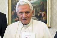 Pope Benedict XVI Okays Condoms For Women + Transexuals!