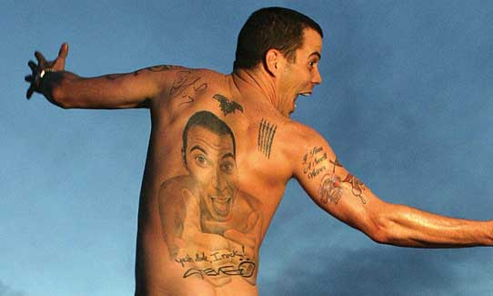 Painful Naked Stunts With Other Guys Is How Steve-O Fights Homophobia