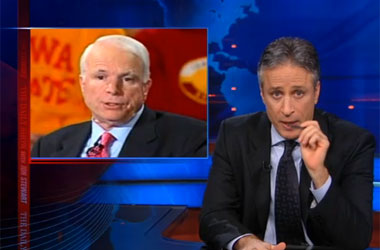 Jon Stewart's John McCain PSA: 'It Gets Worse' For You